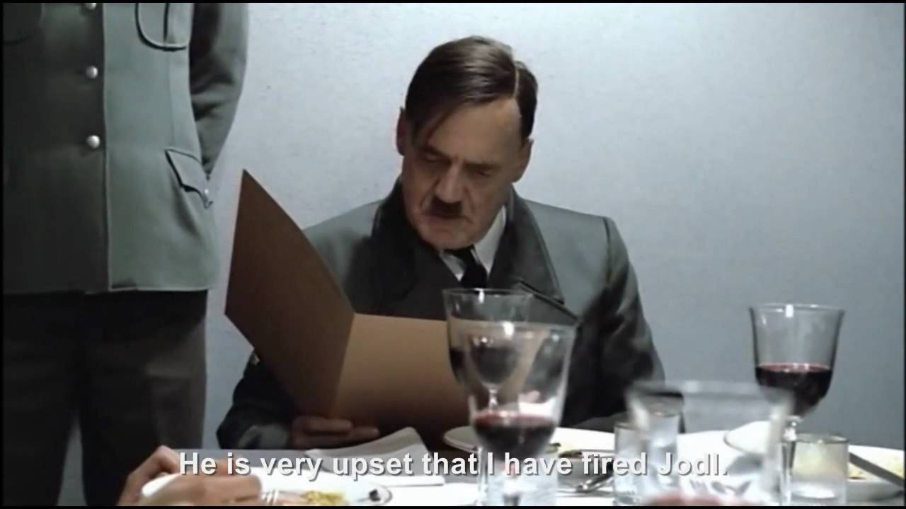 Hitler has fired Jodl