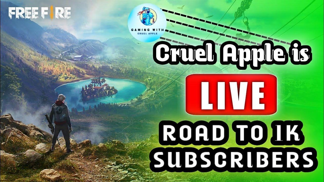 Garena_Free_Fire_Live_Telugu_Gaming_with_Cruel_Apple. ID:570218626