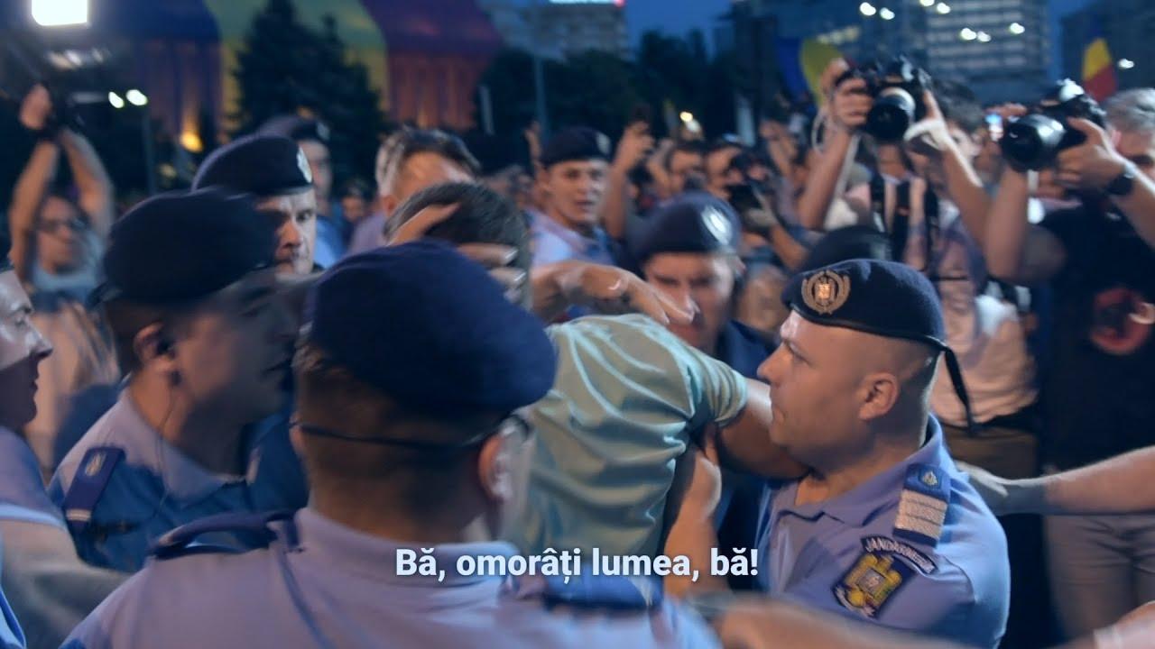 Filmul protestelor din 20 iunie 2018 (CC: EN/RO)