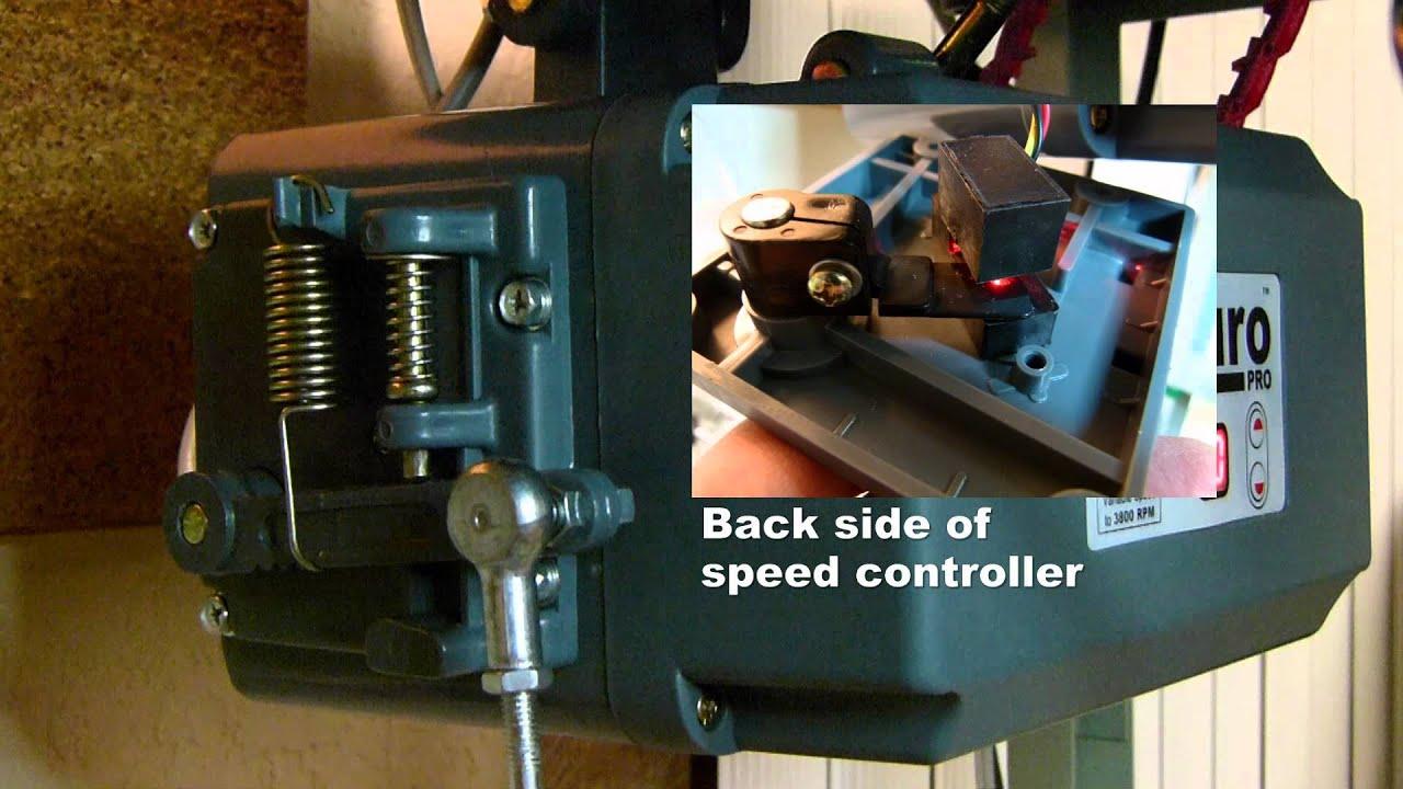 Servo Motor Diy Smoother Speed Control Mod Youtube