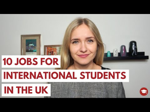 10 Jobs for International Students in the UK