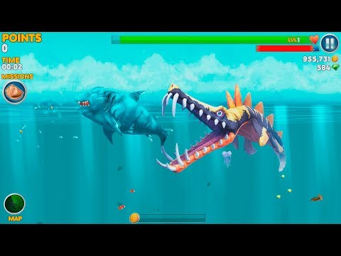Hungry Shark Evolution Ice Shark Android Gameplay #41