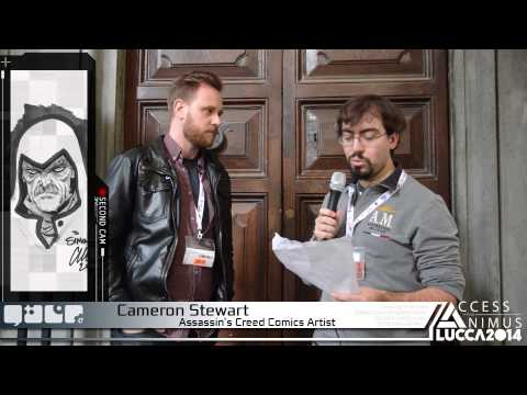 Interview with Cameron Stewart (Assassin's Creed Comics Artist) [Lucca Comics & Games 2014]