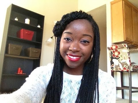 Quick Box Braid Hairstyles - Quick Box Braid Hairstyles - YouTube