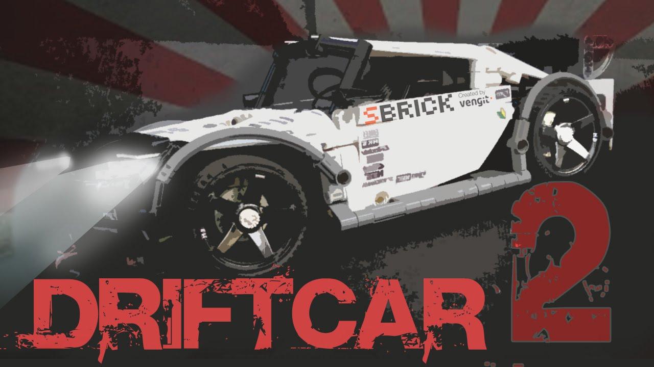 Lego Drift Car Sbrick Printed Rims Youtube