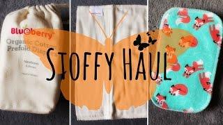 Stoffy Haul - Die-besten-Stoffwindeln.de #4 👶 [Blueberry/Anavy/Erstausstattung]