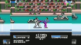 Track and Field 2 (Juegos Olimpicos NES) Gameplay