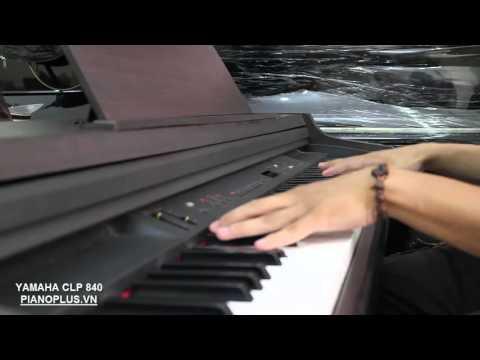 Piano Yamaha Clavinova CLP 840 sound check by Piano Plus