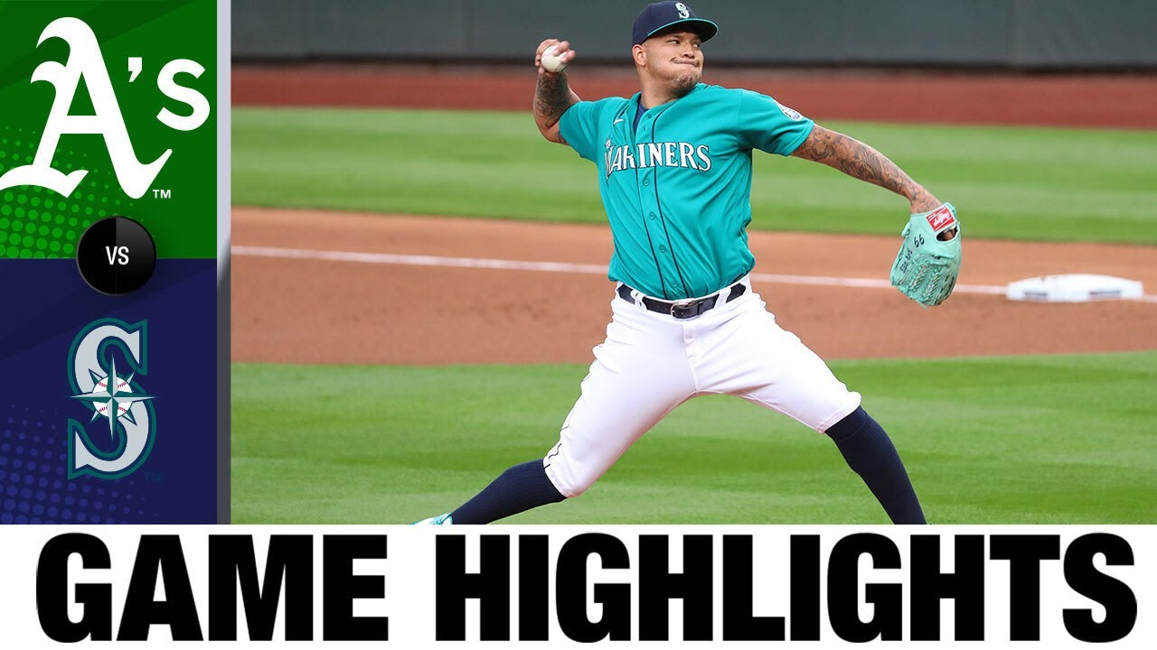 Taijuan Walker fans 8 in Mariners' 5-3 win | A's-Mariners Game Highlights 7/31/20