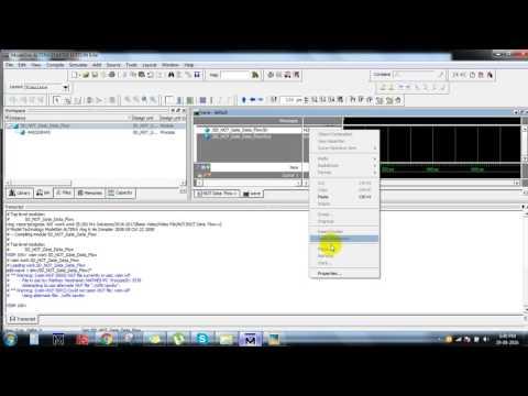 not gate verilog coding using data flow modeling||VLSI project training institutes in Bangalore