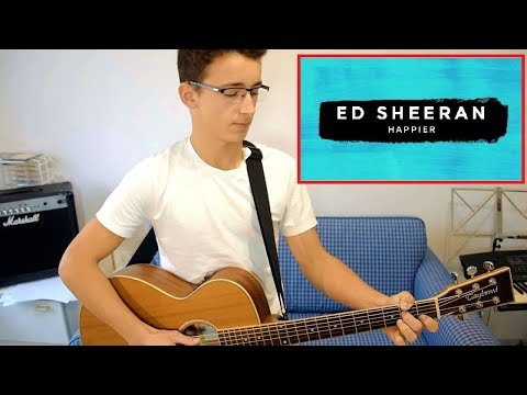 Comment jouer Happier de ED SHEERAN à la guitare 🎸