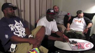 ATF - DJ Clark Kent, Mayor, Greg Street & All Day Interview Part 1