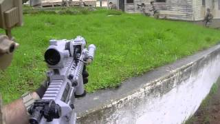 Gameplay: Operation: Jackknife at Fort Ord Airsoft Field 1/16/2016