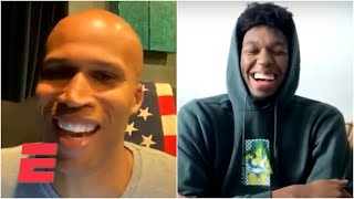 Richard Jefferson wants James Wiseman to trash talk AD and LeBron the 1st time he plays them   ESPN