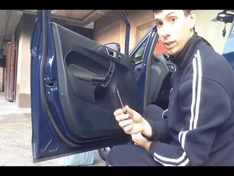 Smontaggio fiesta mk7 youtube - Come cambiare serratura porta interna ...