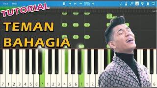 Jaz - Teman Bahagia (Piano Tutorial)