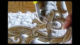 How to carve Styrofoam