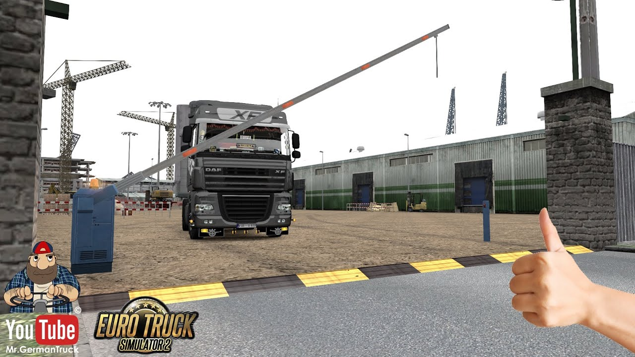 [ETS2 v1.37] Animated Gates in Companies v3.7