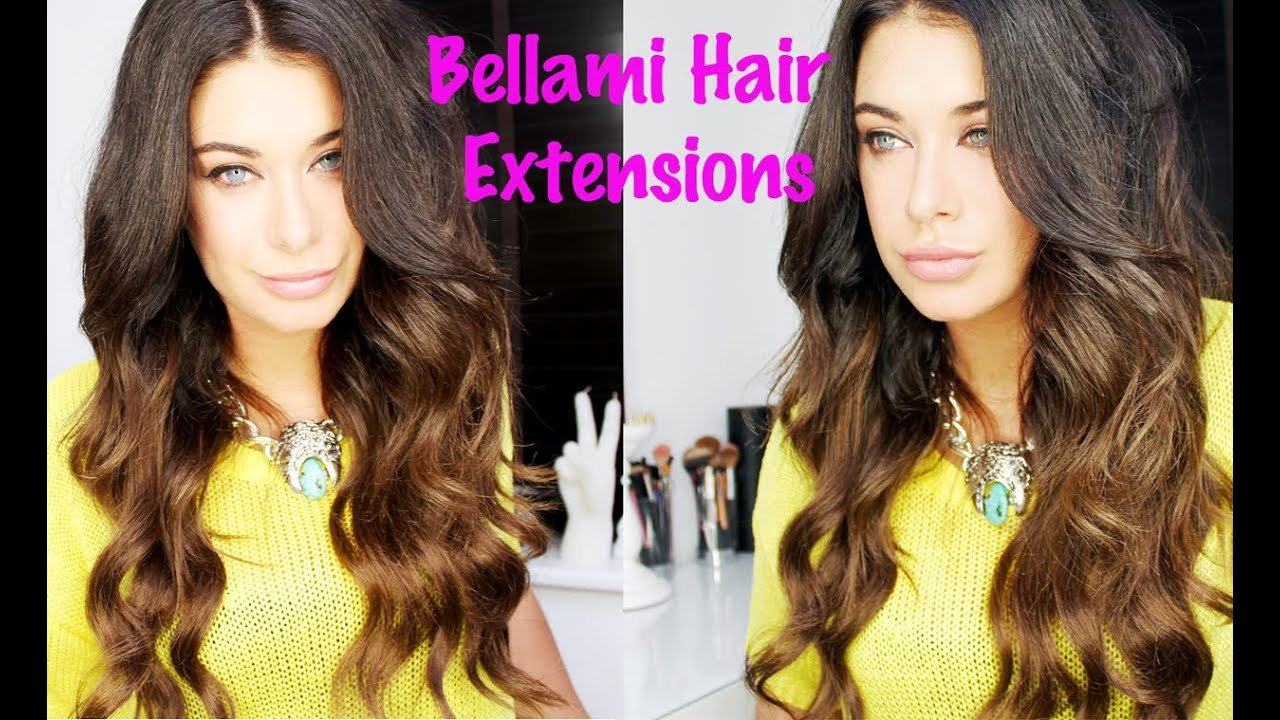 how to style hair extensions bellami hair extensions tutorial review how to clip in 2999
