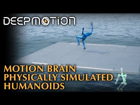 DeepMotion Neuron: Physically Simulated Humanoids