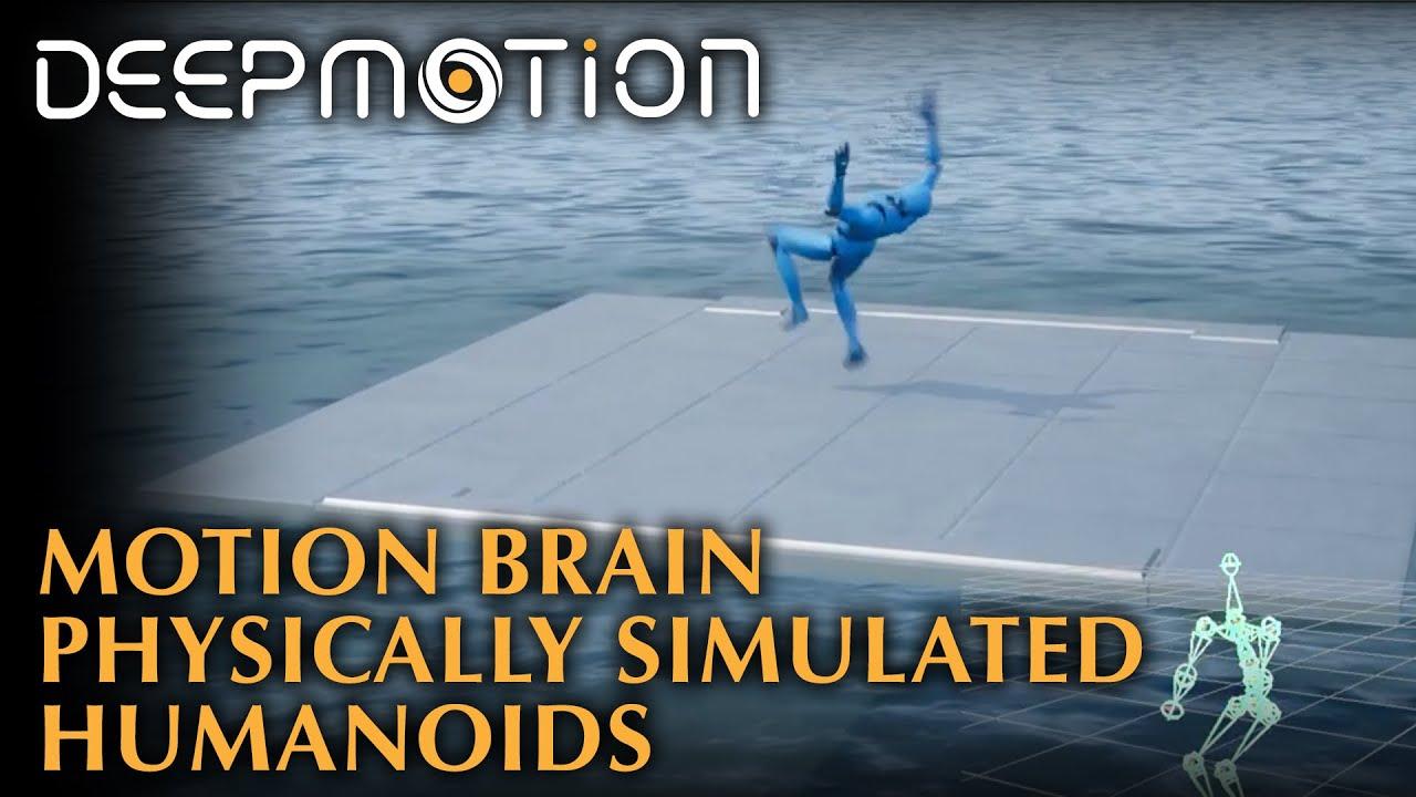 DeepMotion Neuron: Physically Simulated Humanoids