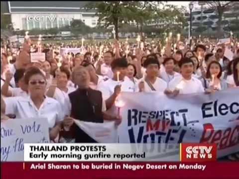 กำนันสุเทพ Thailand Protests Bangkok braces as protesters begin shutdown