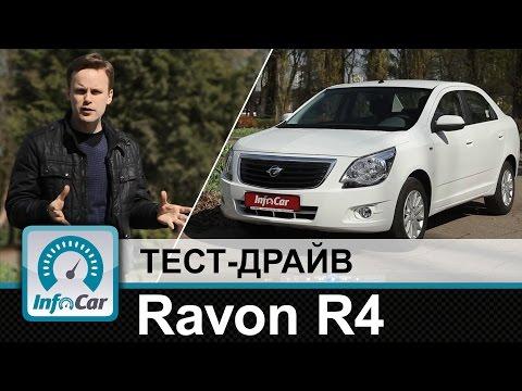 Ravon R4 - тест-драйв InfoCar.ua (Равон Р4)