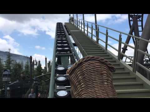 Flight of the Hippogriff POV- Universal Studios Hollywood