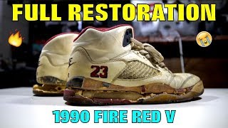 OG 1990 FIRE RED V FULL RESTORATION!! (TRASH TO TREASURE)