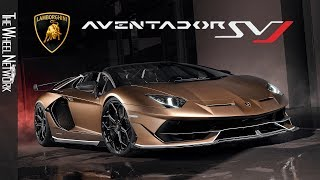 Lamborghini Aventador SVJ Roadster Specifications: ▫ Length/width/h...