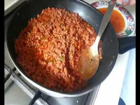 Como hacer una lasa a de carne picada paso a paso youtube - Como cocinar carne picada ...