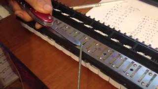 How to Tune a Melodica - Part 1