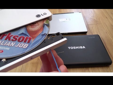 How to OPEN a STUCK CD or DVD Disc Drive