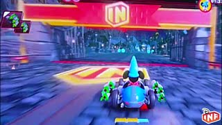 Disney Infinity 3.0 Toy Box Speedway Nightmare Before Christmas Track Beta Gameplay