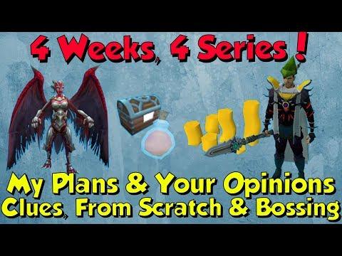 4 Weeks, 4 Series - Info! [Runescape 3] Week Long Series Month!
