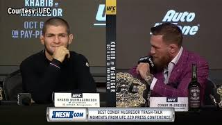 BEST CONOR McGREGOR TRASH TALK MOMENTS from UFC 229 Press Conference