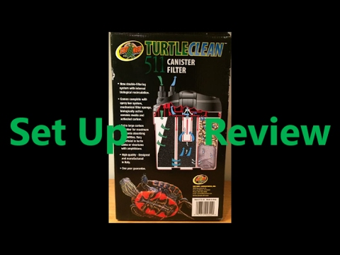 Zoo Med 511 Turtle Clear Canister Filter Review and Setup