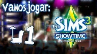 The Sims 3 Showtime Gameplay - Roupas e Explicação Rápida Ep.1