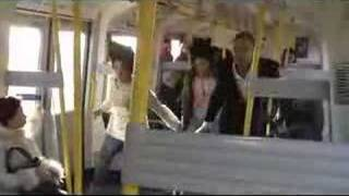 Thriller dance on the tube - Michael Jackson thriller