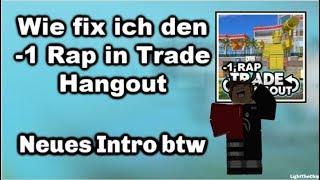 -1 RAP Glitch | How to Fix - Roblox