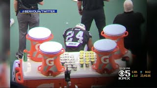 President Trump Calls Out Raiders Running Back Marshawn Lynch On Anthem Protest