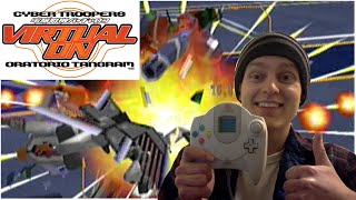 Cyber Troopers Virtual-On Oratorio Tangram for Sega Dreamcast