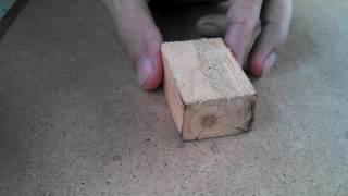 Шпаклёвка для дерева своими руками. Заделка трещин и стыков