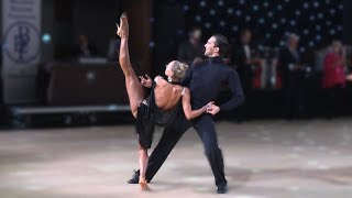 Pavel Zvychaynyy & Oxana Lebedew (GER) - Star Ball 2019 - Professional Latin | QF Rumba