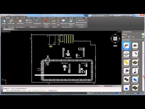 Factory Layout Design - Part 1 of 4 (AutoCAD)