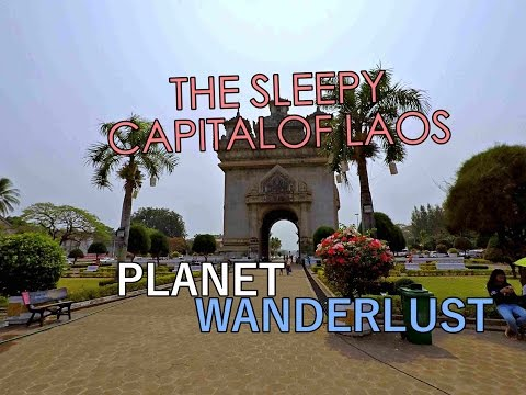 The sleeping capital of Laos