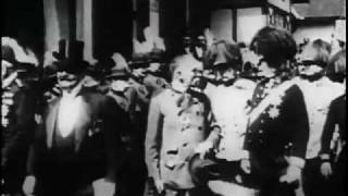 Emperor Francis Joseph of Austria Greeted by His People