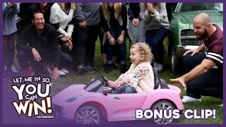 Jon Dorenbos Surprises Adorable 4-Year-Old with a Car!