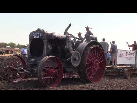 Plowing with Tractors 90+ Years Old!