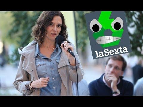 Isabel Díaz Ayuso en La Sexta deja sin palabras a la periodista progre.